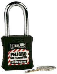 Candado de bloqueo steelpro